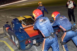Pitstop for #10 SunTrust Racing Pontiac Riley: Wayne Taylor, Max Angelelli