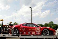 Damaged Risi Competizione Ferrari 430 GT Berlinetta