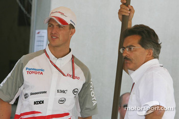 Ralf Schumacher and Dr. Mario Theissen
