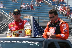 Todd Kluever and Tony Stewart