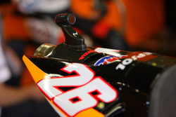 Camera on the bike of Dani Pedrosa