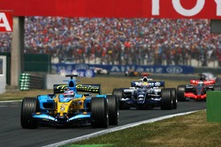 Giancarlo Fisichella leads Mark