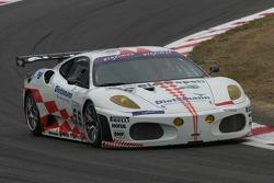 #56 JMB Racing Ferrari 430 GT2 LM: Antoine Gosse, Peter Kutemann, Jean-Pierre Malcher