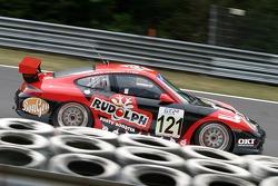#121 Julien Schell Porsche 996 GT3 Cup: Jürgen Van Hover, Roger Grouwels, Julien Schell