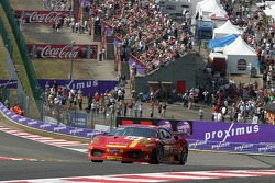 #58 AF Corse Ferrari 430 GT2 LM: Matteo Bobbi, Jaime Melo, Stéphane Ortelli