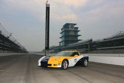 Presentation of the Allstate 400 at the Brickyard Chevrolet Corvette Z06 pace car