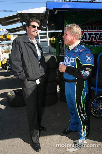 Mike Helton and Terry Labonte
