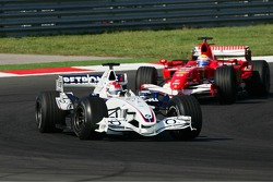 Robert Kubica and Felipe Massa