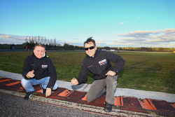 Alexey Vasiliev and Christophe Bouchut find Easter eggs on the circuit