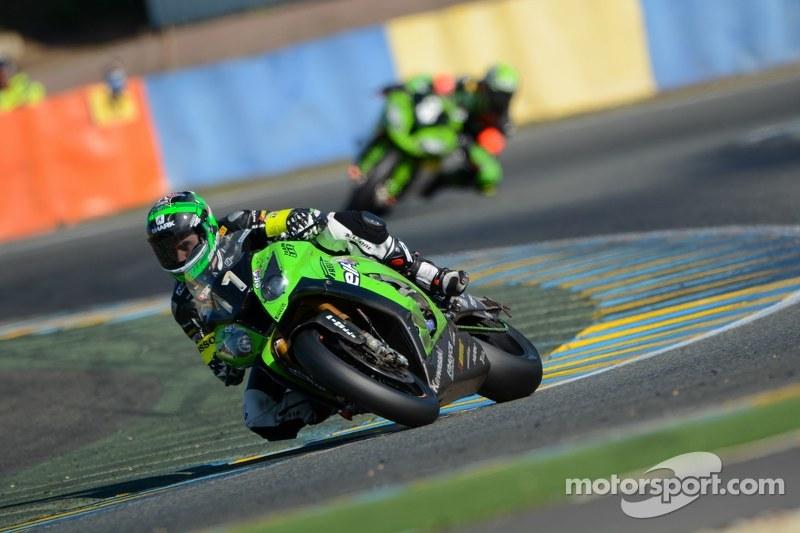 #11 Kawasaki: Gregory Leblanc, Mathieu Lagrive, Fabien Foret, Nicolas Salchaud