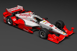 Simon Pagenaud's new paint scheme