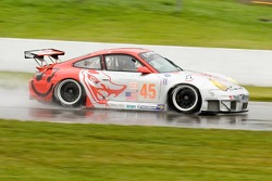#45 Flying Lizard Motorsports Porsche 911 GT3 RSR: Johannes van Overbeek, Marc Lieb, Patrick Long