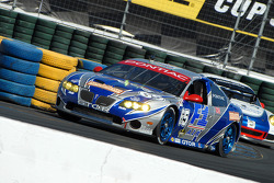 #65 TRG Pontiac GTO.R: Marc Bunting, Andy Lally, #74 Tafel Racing Porsche GT3 Cup: Eric Lux, Ian James