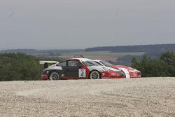 #4 AF Corse Porsche 997 GT3 Cup: Gabriel Balthazard, Mike Savary