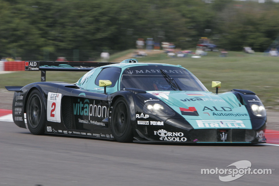 #2 Vitaphone Racing Team Maserati MC12: Jamie Davies, Thomas Biagi