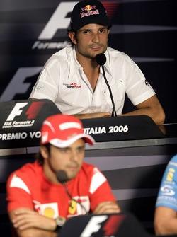 FIA press conference: Felipe Massa and Vitantonio Liuzzi