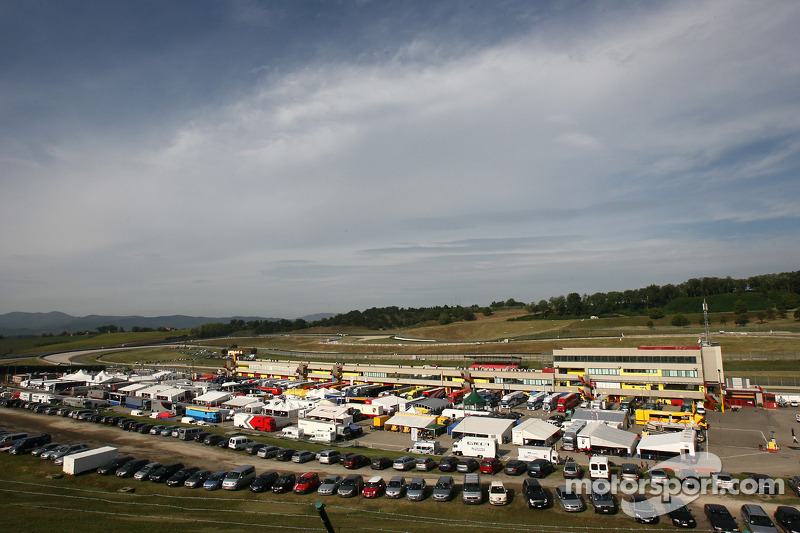 Paddock at Mugello