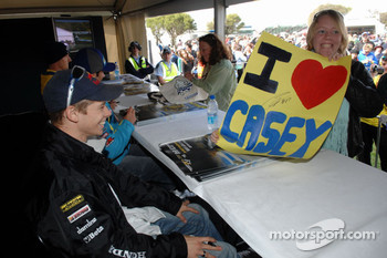Casey Stoner at the autograph session