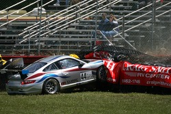 Jay Policastro crashes