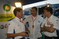 Malcolm Wilson with Christian Loriaux and Jost Capito