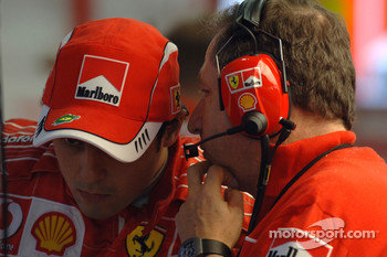 Felipe Massa and Jean Todt