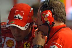 Felipe Massa and Jean Todt