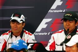 FIA press conference: Takuma Sato and Sakon Yamamoto