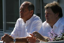 Ron Dennis and Norbert Haug