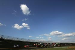 Brian Vickers leads Dale Earnhardt Jr.
