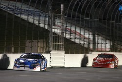 Kasey Kahne leads Dale Earnhardt Jr.
