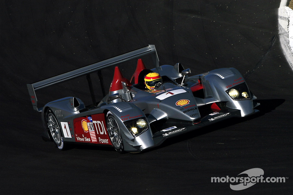 #1 Audi Sport North America Audi R10 TDI Power: Frank Biela, Emanuele Pirro