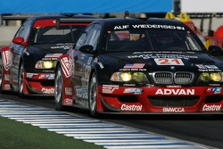 #21 Team PTG BMW E46 M3: Bill Auberlen, Joey Hand
