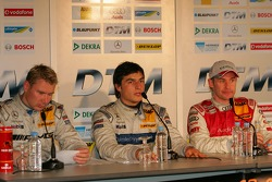 Mika Hakkinen, Bruno Spengler and Tom Kristensen