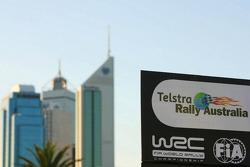 WRC Australia in Perth