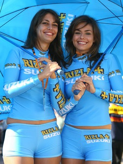 The charming lovely Rizla+ Suzuki girls