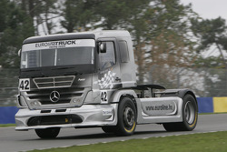 #42 Euroline Truck Racing Team Mercedes Benz: Jochen Mass
