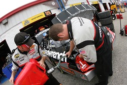 GM Goodwrench Chevy crew members at work