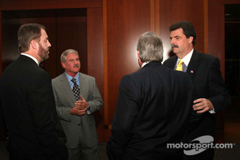 Terry Labonte and Mike Helton