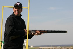 Beretta Celebrity Clay Shoot, at the Circle T Ranch in Fort Worth, Texas: Kyle Petty
