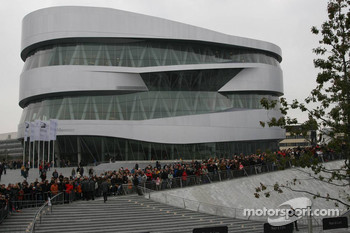 The new Mercedes-Benz Museum at Stuttgart-Untertrkheim