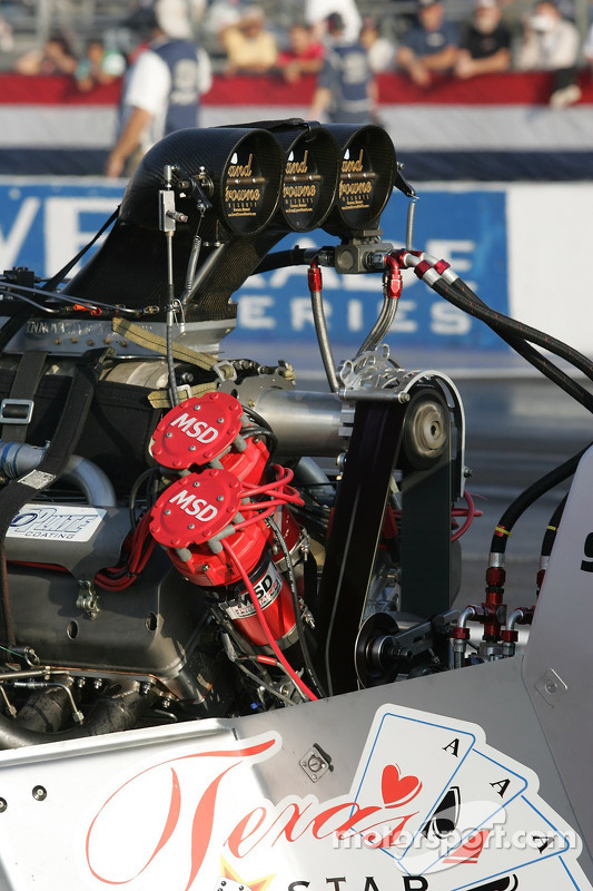 Top Fuel Engine At Pomona Ii