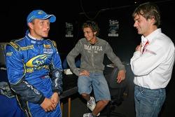Petter Solberg, Valentino Rossi and Sébastien Loeb