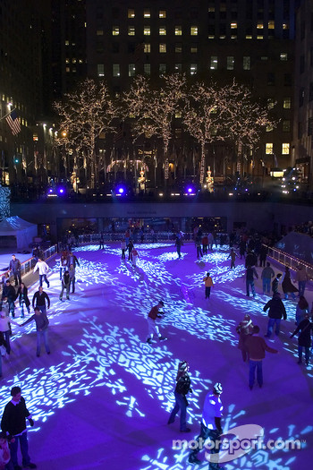 Skating ring at Rockefeller Center