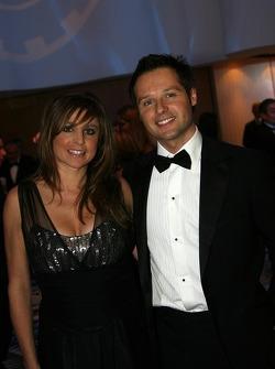 Andy Priaulx, FIA WTCC Champion and wife