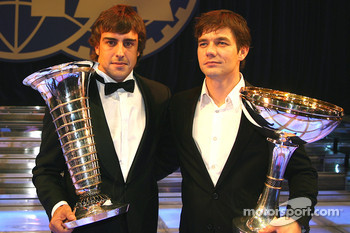 Fernando Alonso and Sébastien Loeb