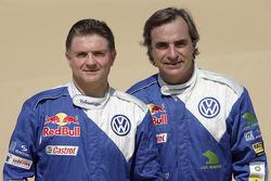 Volkswagen Motorsport presentation in Dubai: Michel Perin and Carlos Sainz