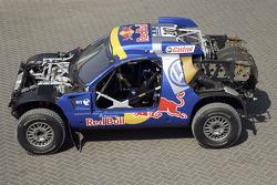 Volkswagen Motorsport presentation in Dubai: the Volkswagen Race Touareg 2