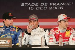 Travis Pastrana, Tom Kristensen and Mattias Ekström