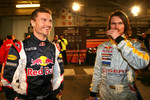 David Coulthard and James Thompson