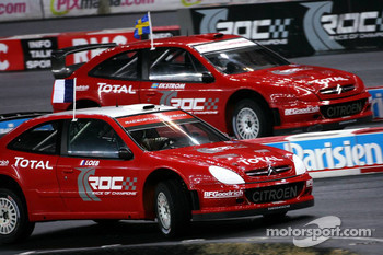 Superfinal 1: Sébastien Loeb and Mattias Ekström